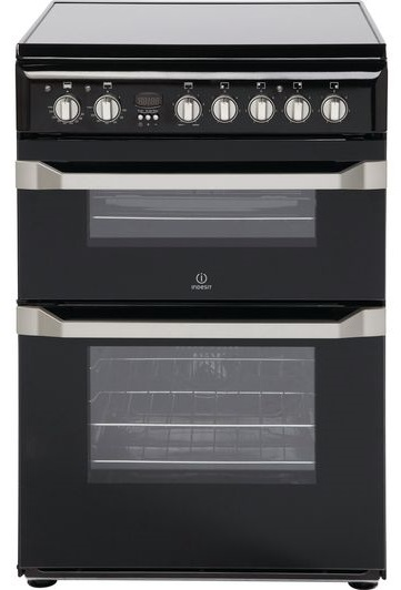 Indesit freestanding electric cooker with double oven