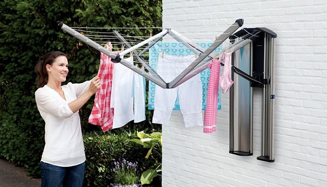 wall mounted cloths Airer