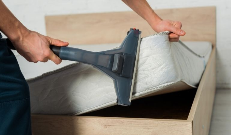 mattress cleaning with steam cleaner