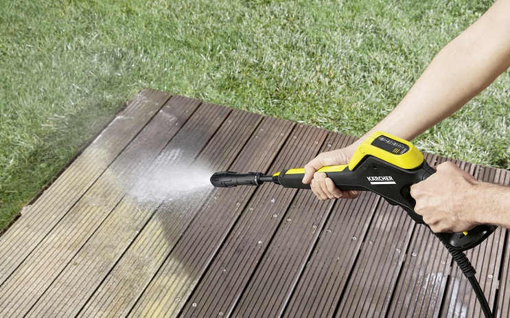Karcher K4 Power Control cleaning decking