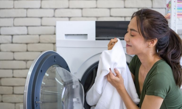bad smell from tumble dryer