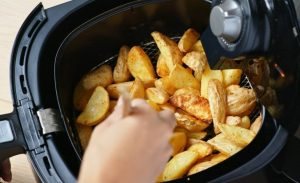 air fryer cooking without oil